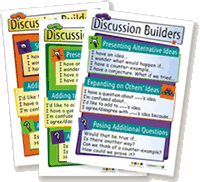 Discussion Builders posters
